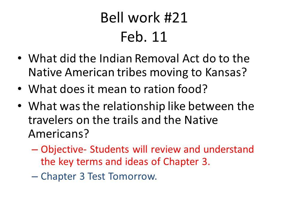 Bell work #21 Feb.