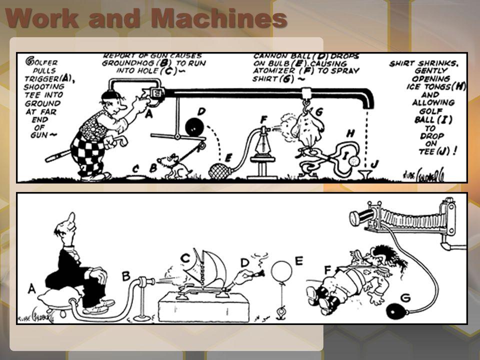 Work and Machines