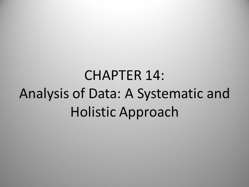Week 10 (Oct. 24 th & 26 th ) Return homework; CarmenGrades updated Analysis of Data (Chpt.