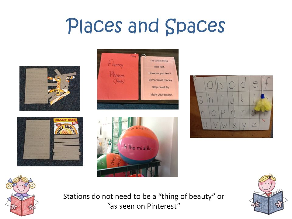 Places and Spaces Stations do not need to be a thing of beauty or as seen on Pinterest