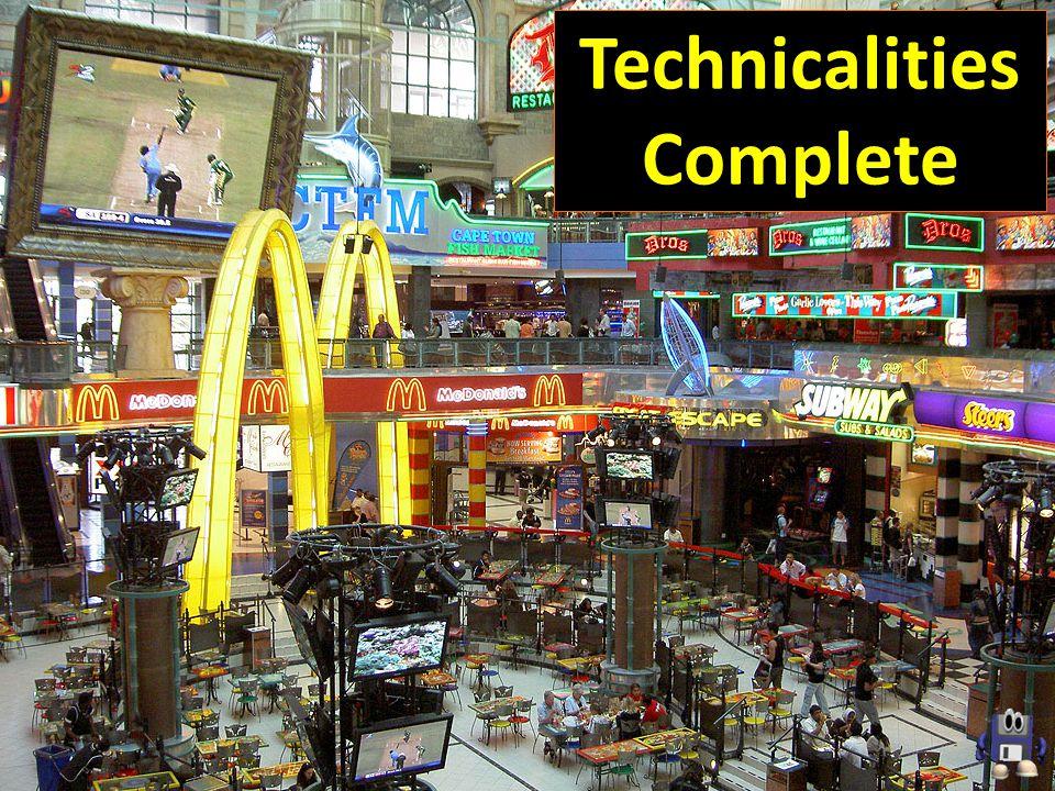 Technicalities Complete