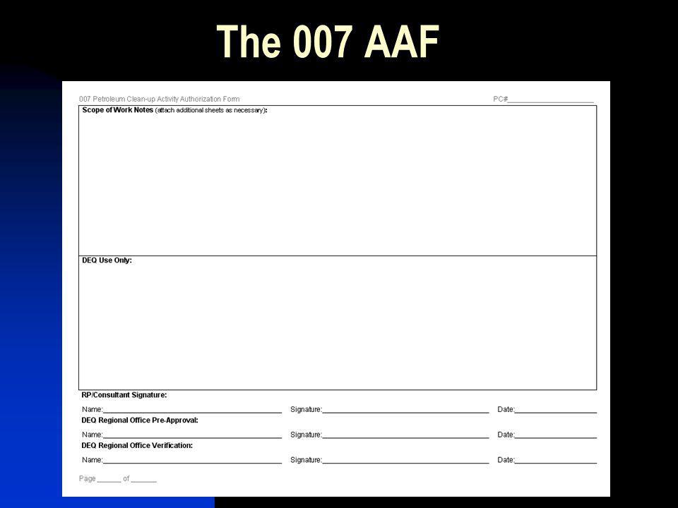 The 007 AAF
