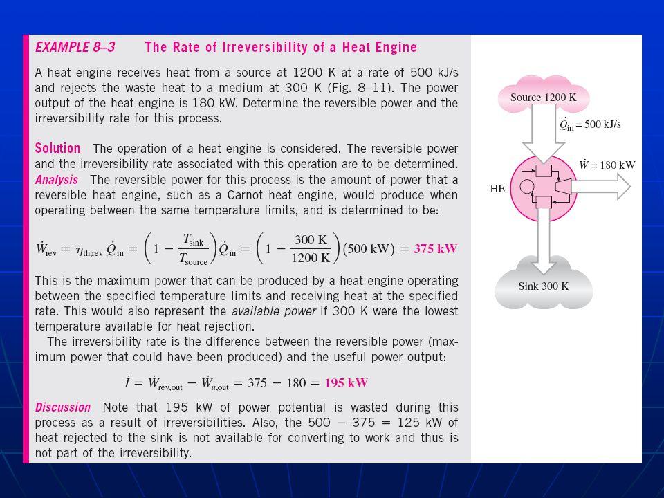 From table A13 (R-134a superheated vapor): u=386.99 kJ/kg u 0 = 252.615 kJ/kh @ 180°C v=0.044554 m3/kg@ 25°C v 0 = 0.23803 m3/kg 800 kPa s=1.3327 kJ/kg.K 100 kPa s 0 = 1.10605 kJ/kg.K