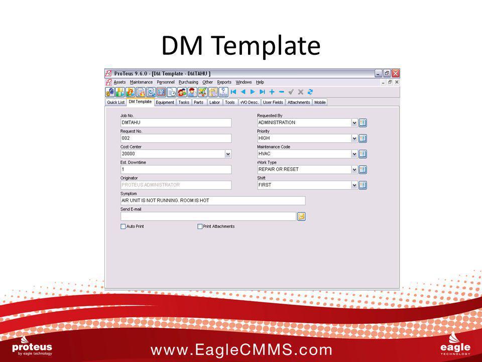 DM Template