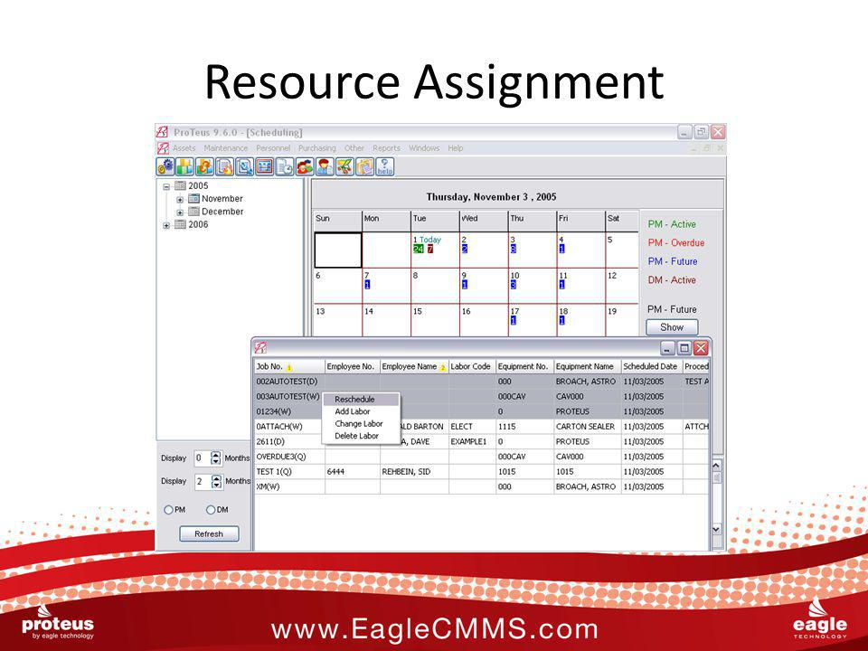 Resource Assignment