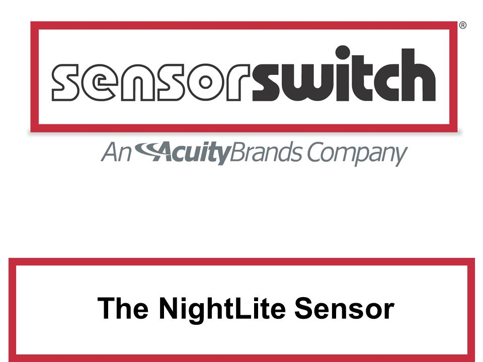 The NightLite Sensor