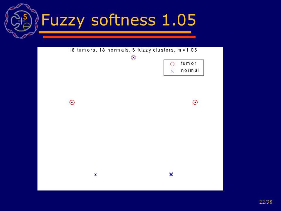 22/38 Fuzzy softness 1.05