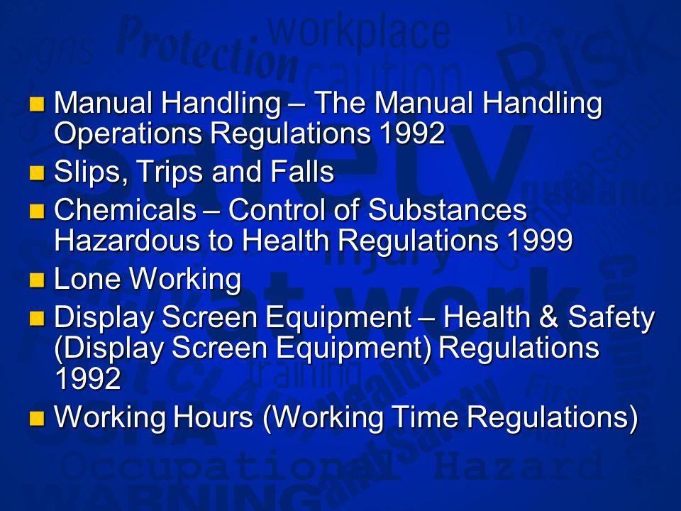 Slide 6 Appendix 1 Statutory Documents & Procedures Checklist Statutory Documents & Procedures Checklist