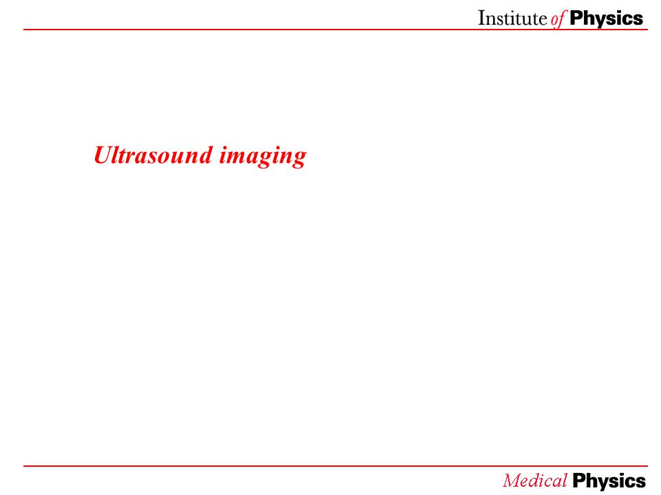 Ultrasound imaging: What does it look like?