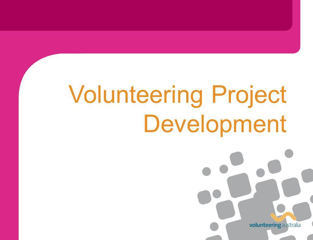 Volunteering Project Development