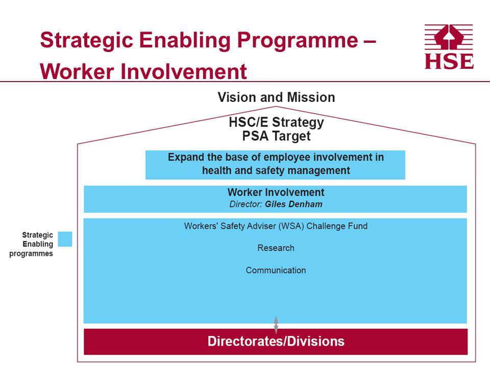 Strategic Enabling Programme – Worker Involvement