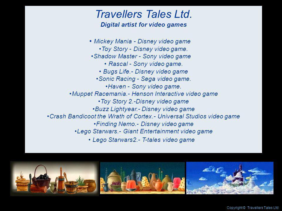 Travellers Tales Ltd.