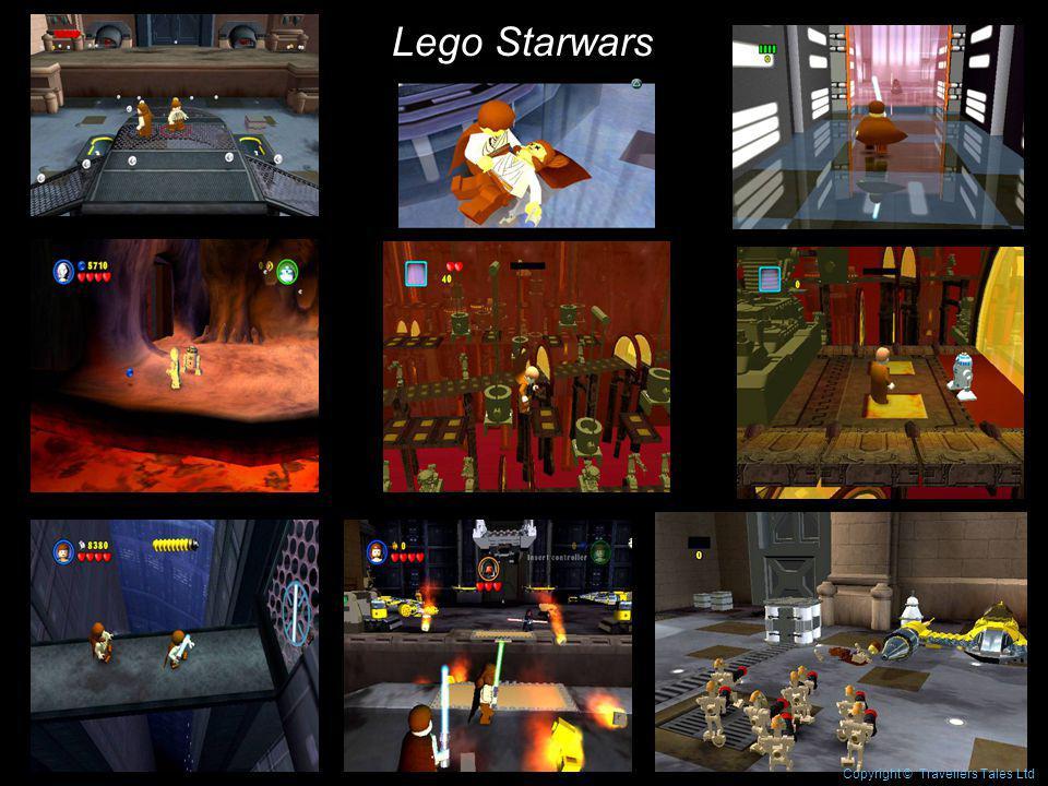 Lego Starwars Copyright © Travellers Tales Ltd
