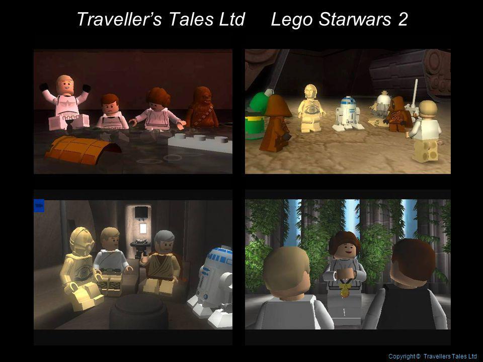 Travellers Tales Ltd Lego Starwars 2 Copyright © Travellers Tales Ltd