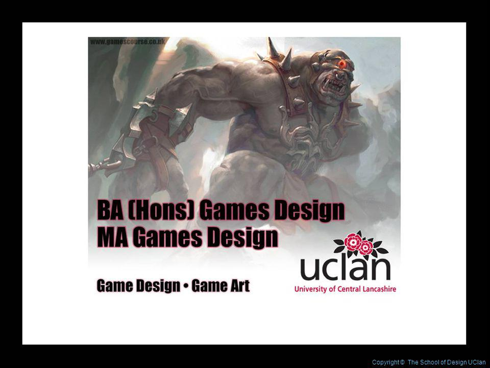 Copyright © The School of Design UClan