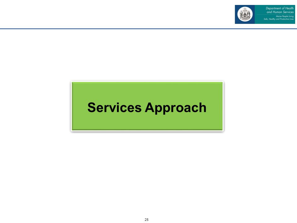 25 Services Approach