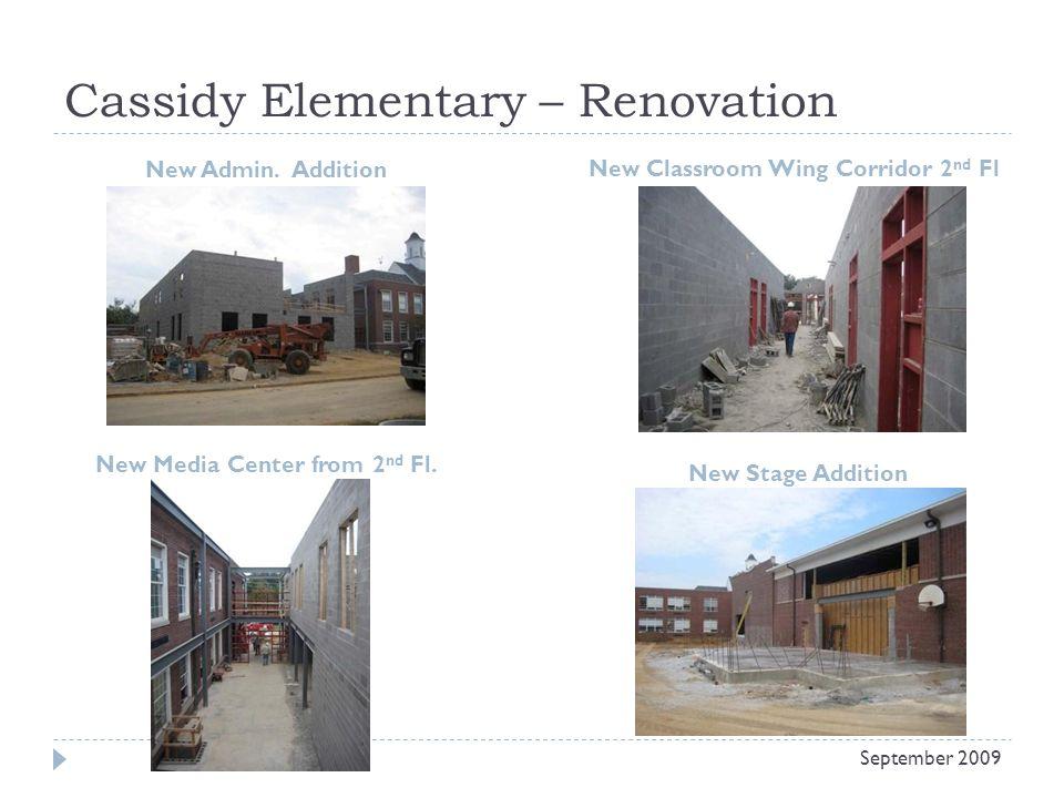 Cassidy Elementary – Renovation New Admin.