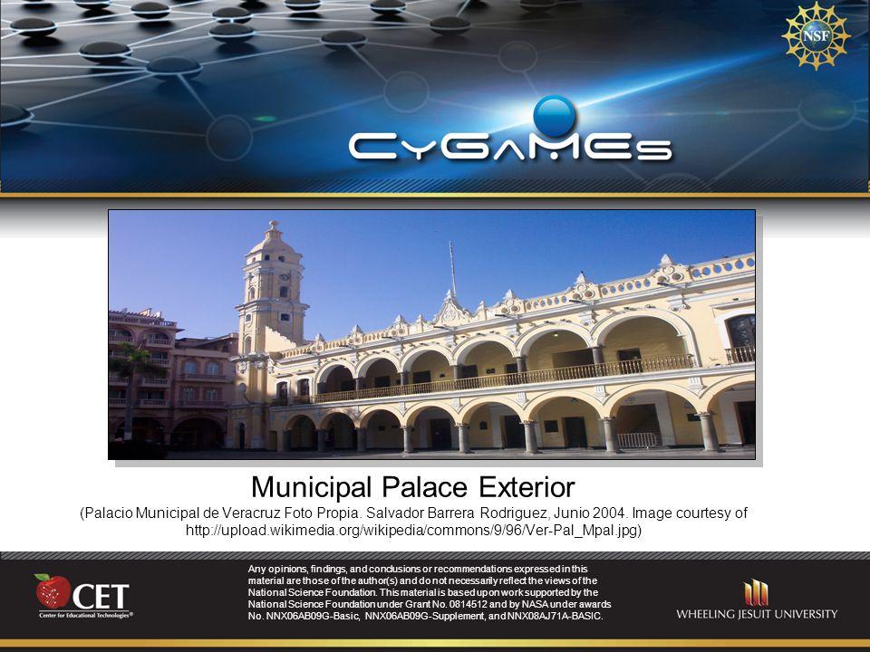 Municipal Palace Exterior (Palacio Municipal de Veracruz Foto Propia.