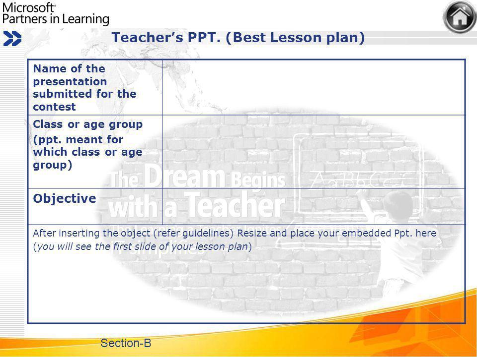 Teachers PPT.