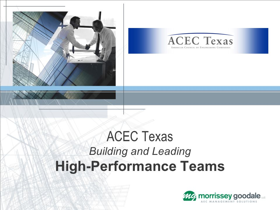 ACEC Texas Building and Leading High-Performance Teams