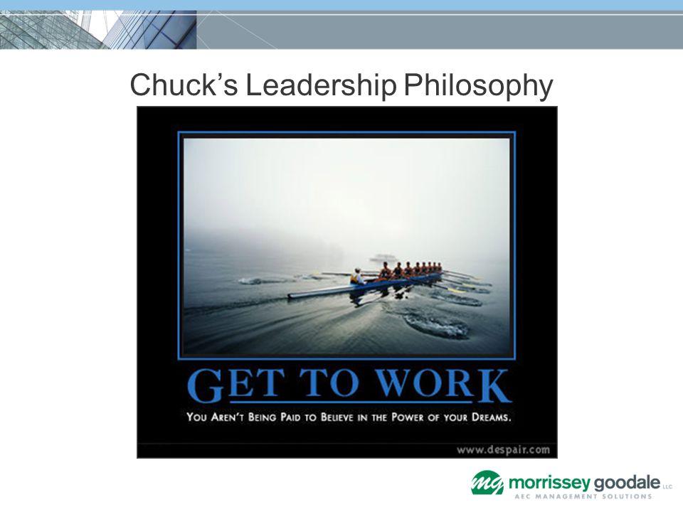 Chucks Leadership Philosophy