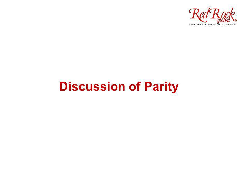 Discussion of Parity
