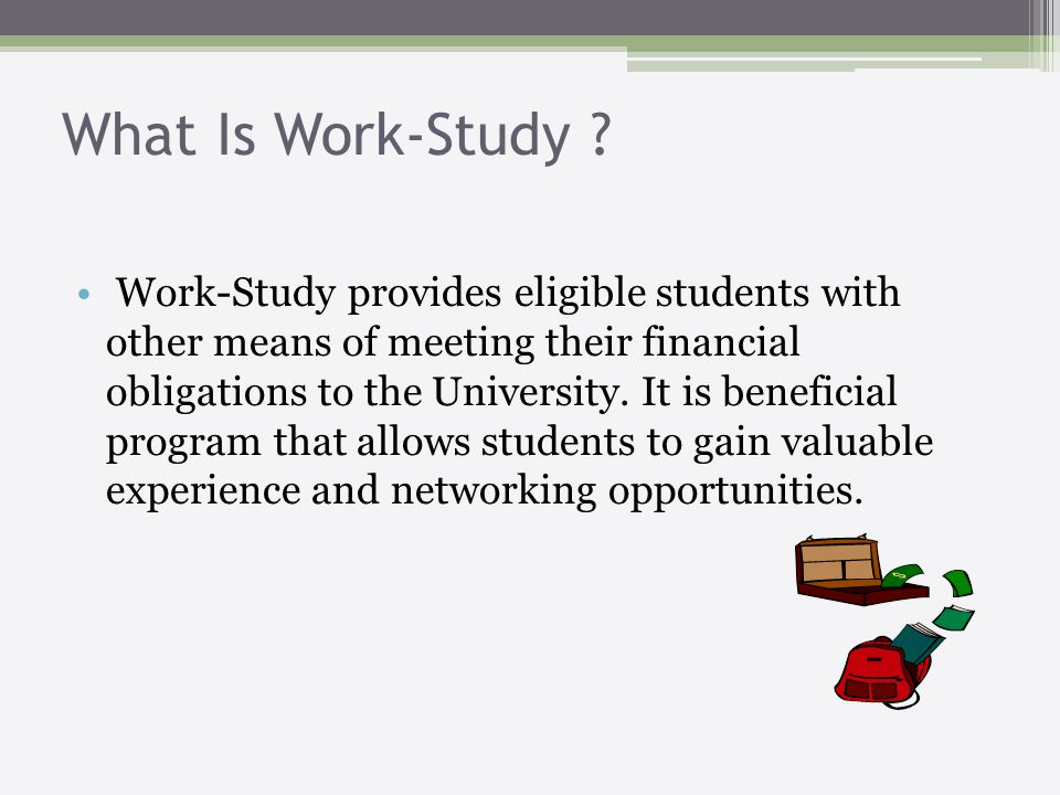 What Is Work-Study .