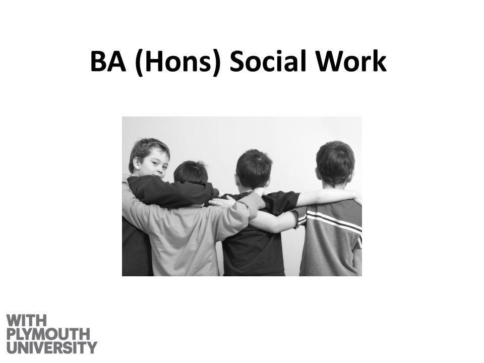 BA (Hons) Social Work