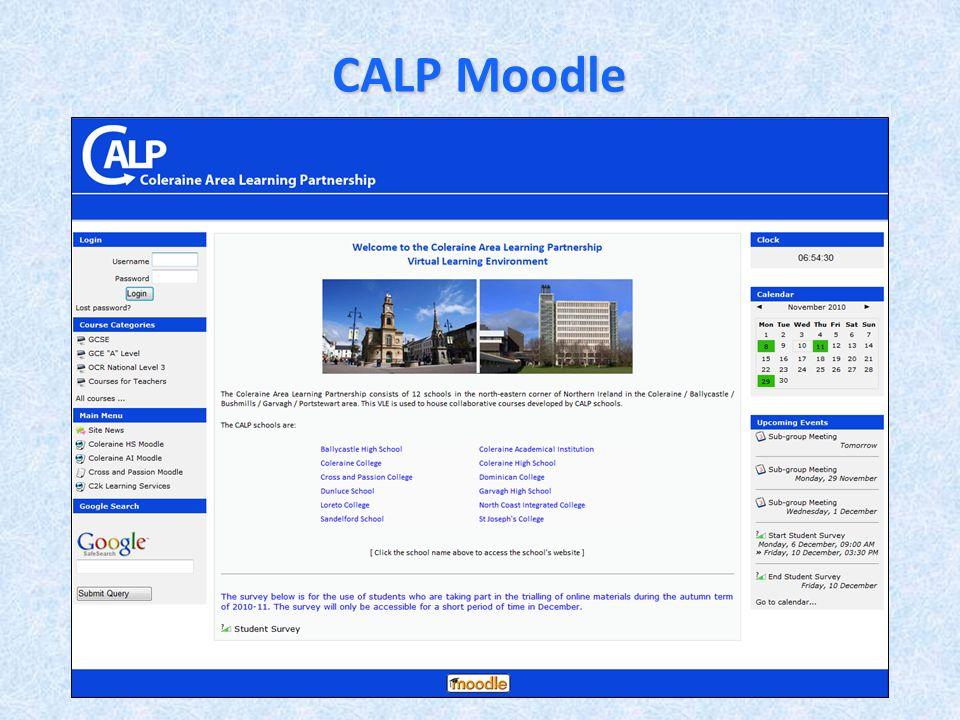 CALP Moodle