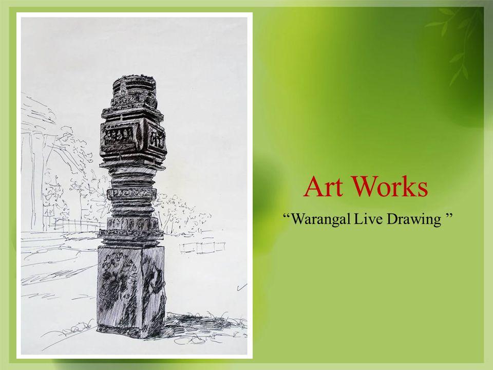 Art Works Warangal Live Drawing