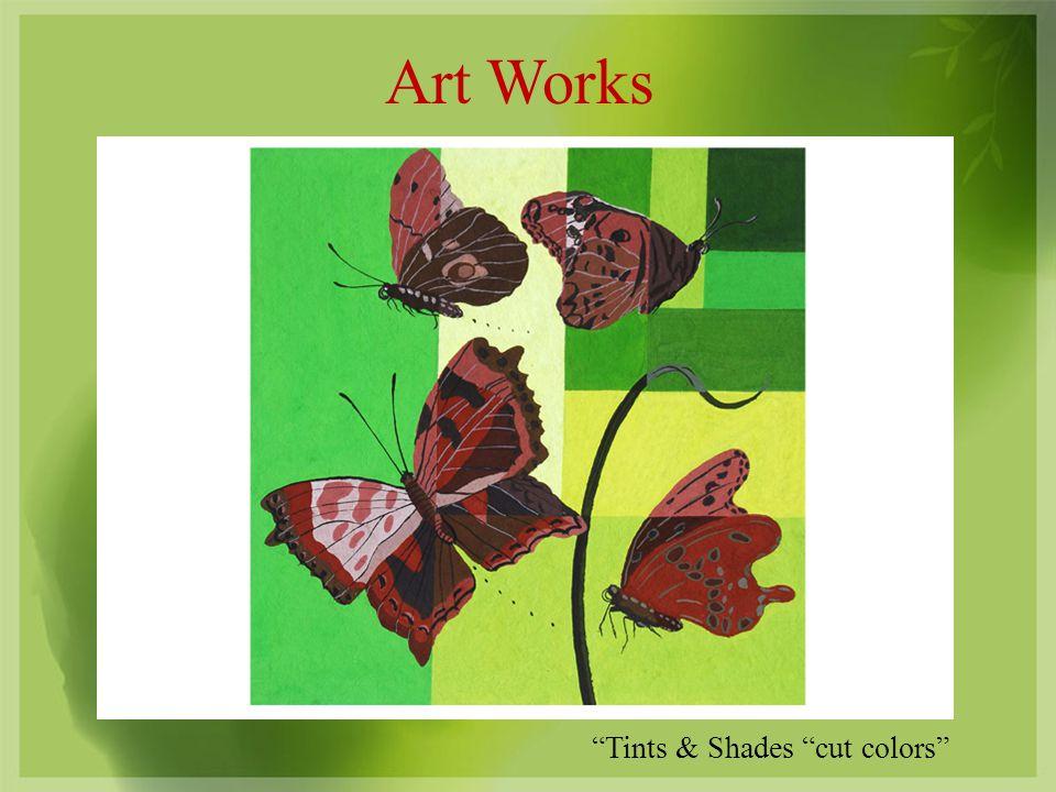 Art Works Tints & Shades cut colors