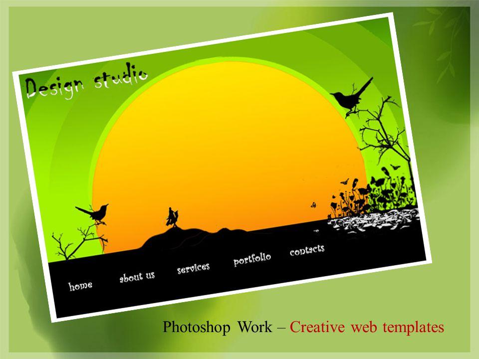Photoshop Work – Creative web templates