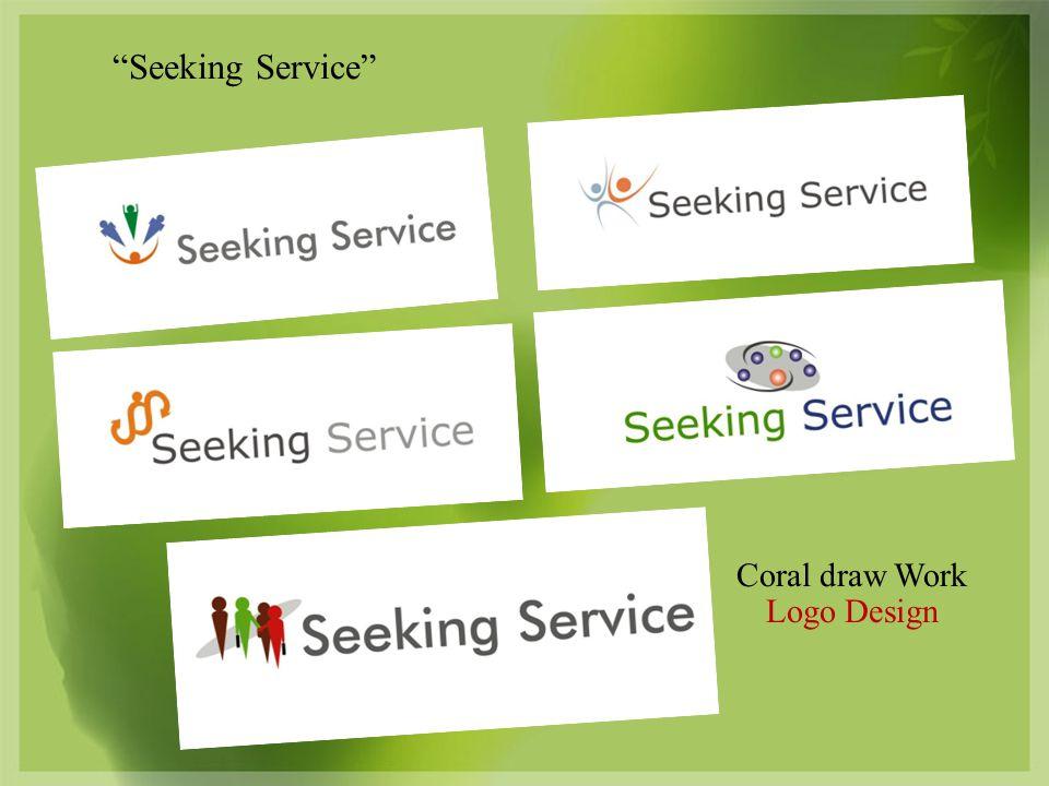 Coral draw Work Logo Design Seeking Service