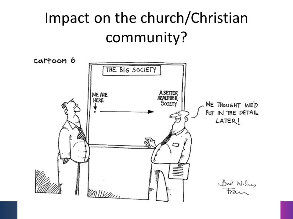 Social Policy Impact on the church/Christian community?
