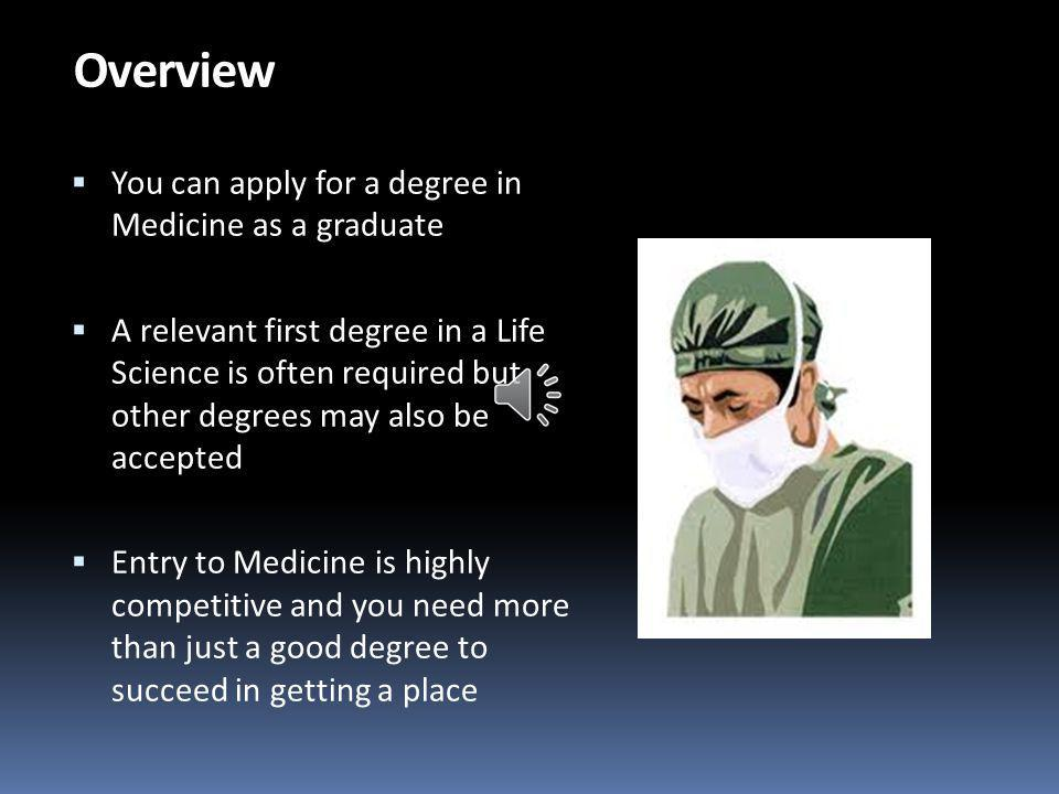 Graduate Entry to Medicine in UK: Improve your chances of success Phil Clarke Senior Careers Adviser Careers, Employability and Skills