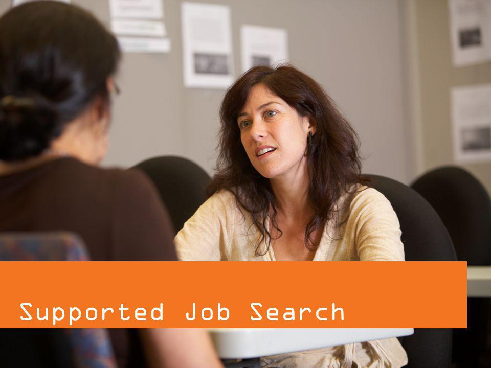 Supported Job Search