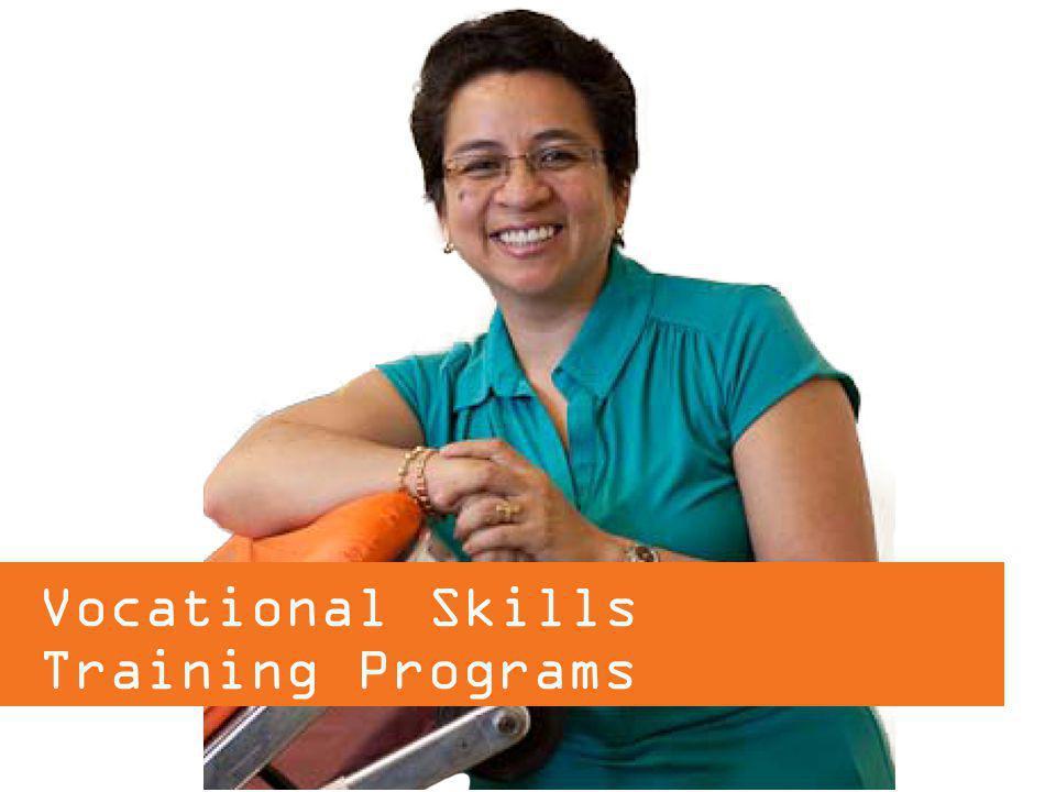 Vocational Skills Training Programs