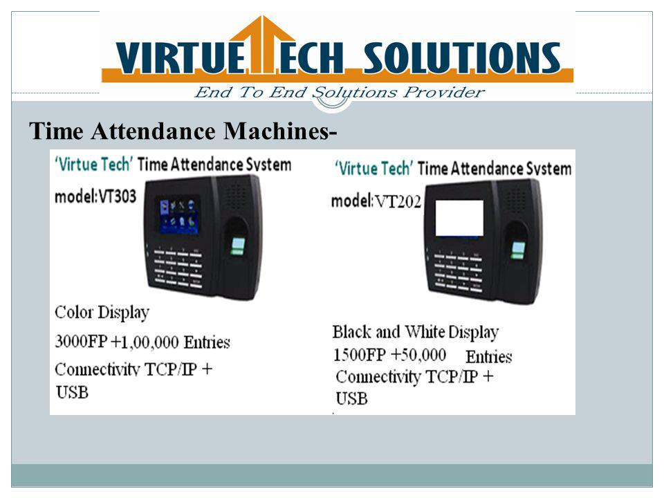 Time Attendance Machines-