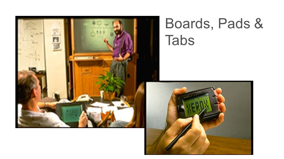 Boards, Pads & Tabs