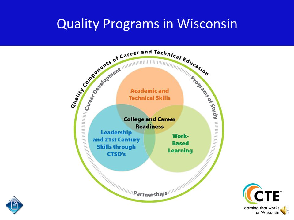 An overview of Work-Based Learning in Wisconsin Work-Based Learning