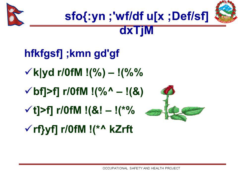 sfo{:yn ;'wf/df u[x ;Def/sf] dxTjM hfkfgsf] ;kmn gd'gf k yd r/0fM !(%) – !(% bf]>f] r/0fM !(%^ – !(&) t]>f] r/0fM !(&! – !(*% rf}yf] r/0fM !(*^ kZrft