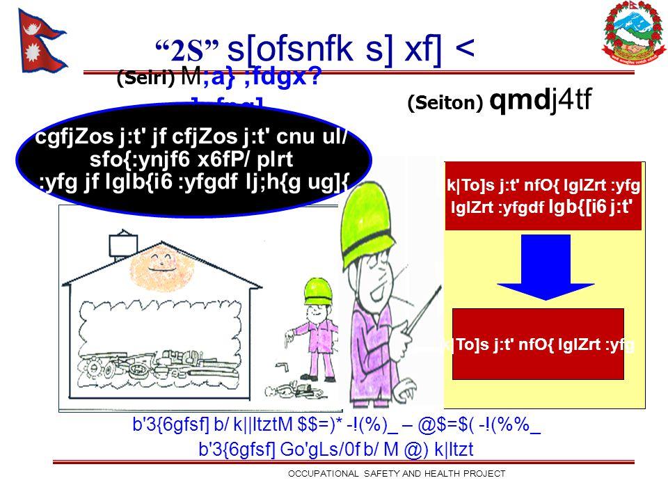 (Seiri) M;a} ;fdgx? s]nfpg] k To]s j:t' nfO{ lglZrt :yfg lglZrt :yfgdf lgb{[i6 j:t' k To]s j:t' nfO{ lglZrt :yfg (Seiton) qmdj4tf 2S s[ofsnfk s] xf] <