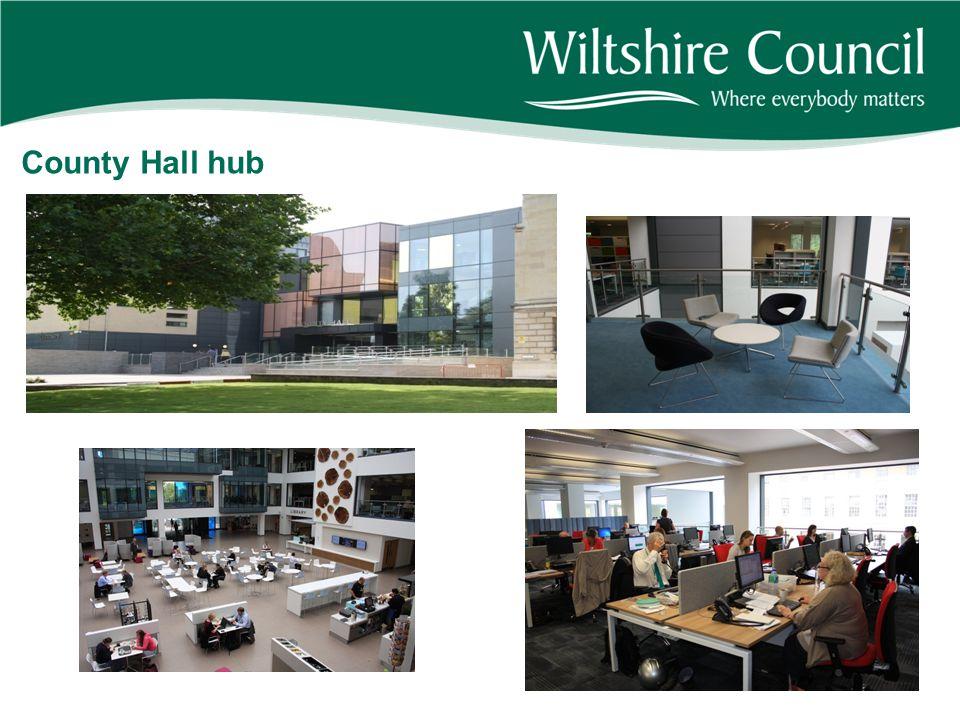 County Hall hub