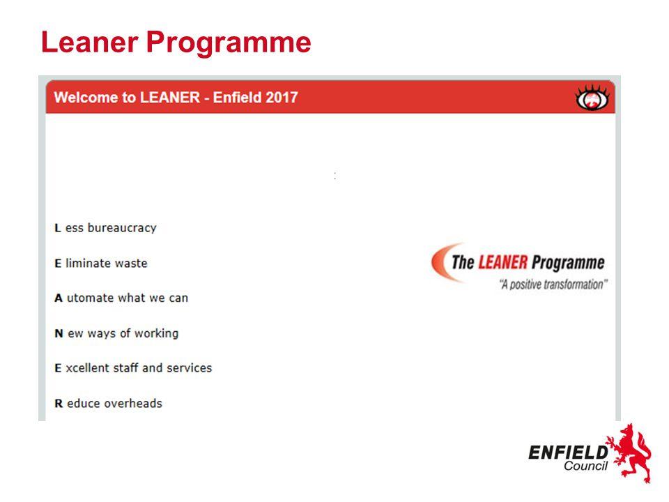 Leaner Programme