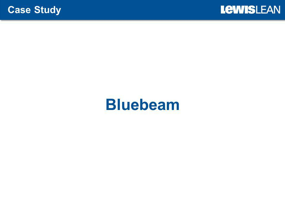 Bluebeam Case Study