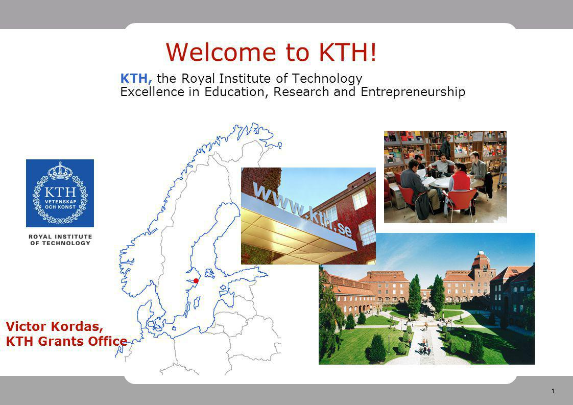 1 Welcome to KTH.
