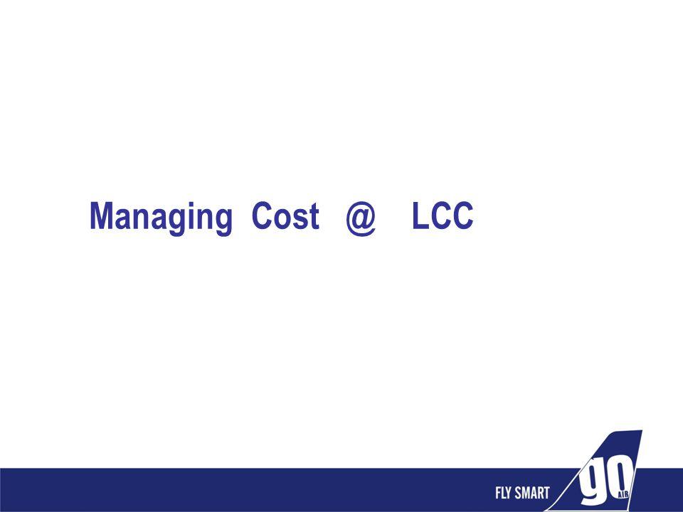 Managing Cost @ LCC