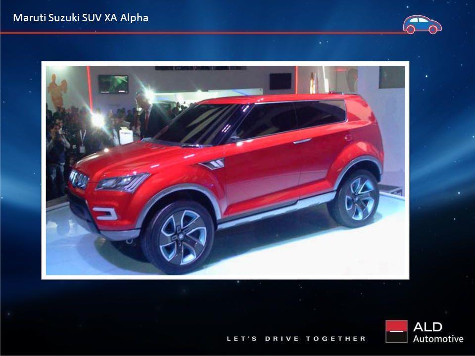 Maruti Suzuki SUV XA Alpha