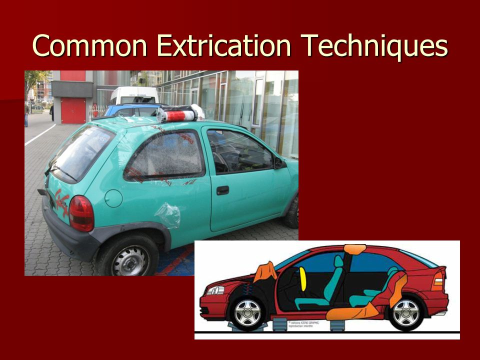 Common Extrication Techniques