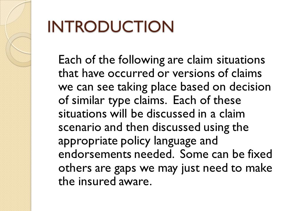 HOW TO DETERMINE COVERAGE Is the auto involved a covered auto Is the person seeking coverage an insured Does any Liability Exclusion apply COVERED NOCOVERAGENOCOVERAGE NO YES NO